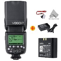 Fomito GODOX VING カメラフラッシュV860IIN  (TTLpioneering Li-ion Camera Flash) Nikon DSLRカメラに適用