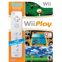 Wii Remote W/ Wii Play / Game