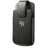 BlackBerry ACC-60088-001 Leather Swivel Holster Case for Blackberry Classic - Retail Packaging -...