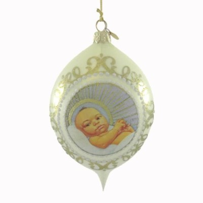 2008 Baby Jesus Member Ornament by Ebony Visions
