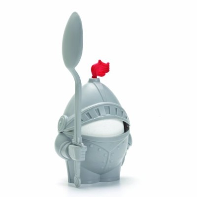 Egg Knight in Armour - Egg Cups and Spoon Set