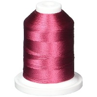 Rayon Super Strength Thread Solid Colors 1100 Yards-Passion Rose (並行輸入品)