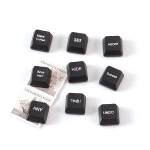 Design Ideas Computer Key Office Magnets, Set of 9 by Design Ideas