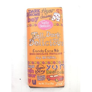 Seattle Chocolates (Tall Dark and Delicious (70g)) [並行輸入品]