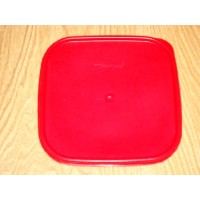Tupperware Square Modular Mates Seal in Passion Red by Tupperware