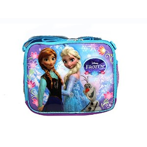 Lunch Bag - Frozen - Purple and Blue Sisters Stick Together New 622220