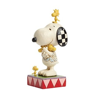 enesco PEANUTS DESIGNS BY JIM SHORE フィギュア スヌーピー Love is a Beagle Hug #4043614 4043614