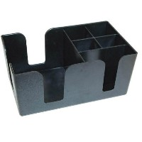 Winco BC-6 Bar Caddy with 6 Compartments,Set of 3 by Winco