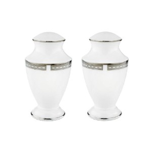 Lenox Murray Hill Salt and Pepper Set, White by Lenox [並行輸入品]