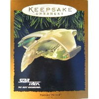 Star Trek The Next Generation Romulan Warbird Light & Motion Magic 1995 Hallmark Ornament by...