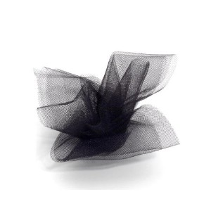 Darice 2912-85 6-Inch-by-25-Yard Tulle, Black by Darice