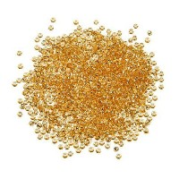 Bulk Buy: Darice DIY Crafts Toho Japanese Glass Silver-Lined Seed Beads Gold 11/0 2.2mm 1951-08 by...