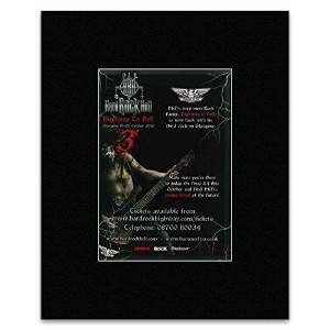 HARD ROCK HELL FESTIVAL - Glasgow 19-20th October 2012 Mini Poster - 28x21cm
