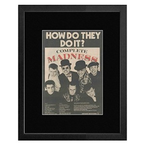 Madness - Complete Madness - How Do They Do It Framed Mini Poster - 53x43cm