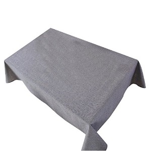 Zhhlaixing 高品質の Simple Style Cotton Linen Tablecloth Solid Color Home Dining Table Cloth