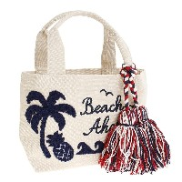 【セール実施中】【送料無料】BEACHAHOLIC MINI BAG 885SW7BF5418 WHITE