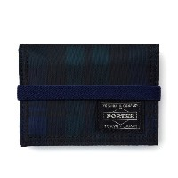 (ヘッド・ポーター) HEAD PORTER | HIGHLAND | BAND CARD CASE GREEN