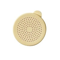 Cambro 96SKRLD406 Polycarbonate Camwear Lid for Salt and Pepper Shaker, Beige by Cambro