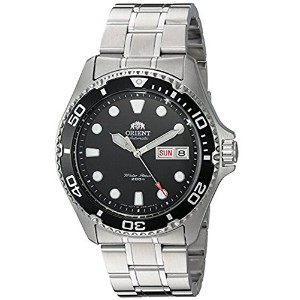 (オリエント)Orient 腕時計 メンズ Men`s FAA02004B9 Ray II Analog Automatic Silver-Toned Stainless Steel Diving...