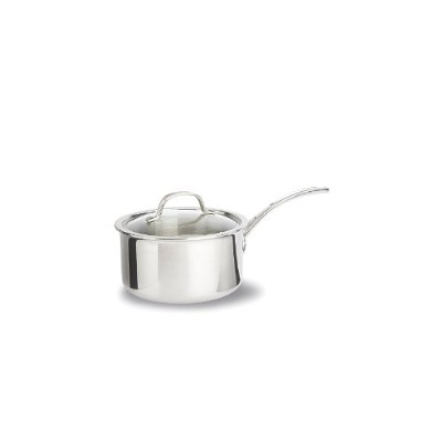 Calphalon Tri-Ply Stainless Steel 2-1/2-Quart Sauce Pan with Cover by Calphalon