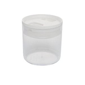 Click Clack Pantry Canister, 0.6-Quart, White Lid by Click Clack [並行輸入品]