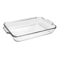 Anchor Hocking 81938OBL11 Oven Basics Bake Dish, 5 quart, Clear by Anchor Hocking