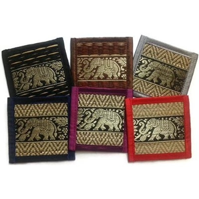 Chic Reed Collection 6-piece Coaster Set, Fancy Colors #2 by Chic Coaster