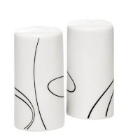 Corelle Simple Lines Salt and Pepper Shakers by CORELLE