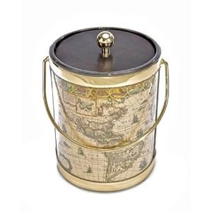 Mr. Ice Bucket 590-2 Map Ice Ice Bucket, 5-Quart [並行輸入品]