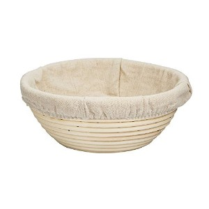 Ylife Bread Basket Proofing Bowl - Premium Quality Multi-size Round Banneton Rattan For Rising...