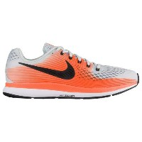 (取寄)Nike ナイキ メンズ エア ズーム ペガサス 34 Nike Men's Air Zoom Pegasus 34 Pure Platinum Black Tart Hyper Orange