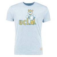 UCLA Bruins Original Retro Brand Vintage Tri-Blend T-Shirt メンズ Blue NCAA Tシャツ カレッジ バスケ