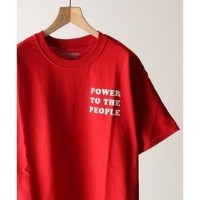 WILLY CHAVARRIA / ウィリーチャバリア :別注POWER TO THE PEOPLE Tシャツ【ジャーナルスタンダード/JOURNAL STANDARD メンズ Tシャツ・カットソー...