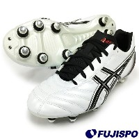 DS ライト WD 2 SI / DS LIGHT WD 2 SI(TSS712-0099)アシックス 取替式サッカースパイク パールホワイト×オニキス【アシックス/asics】