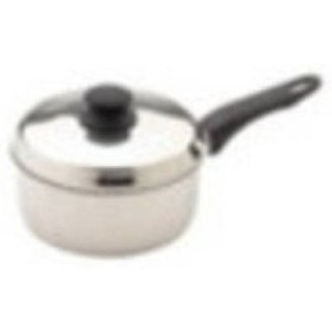 Bradshaw International 06003 Saucepan、蓋、ステンレススチール、1 – 1 / 2-qts。 1 06003