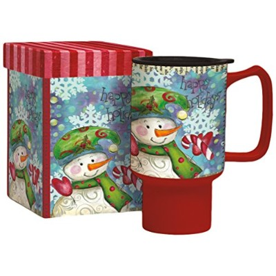 Lang Snowman Follies Travel Mug by Lisa Kaus (2127023) by Lang