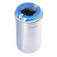 キッチンcanister-foodストレージcontainer-stainless steel-airtight Easy開口部蓋Keeps Food Fresh