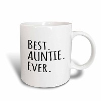 3dローズInspirationzStoreタイポグラフィ–親戚、最高のAuntie Ever–ファミリーギフトHonorary Aunts and Great Aunts–...