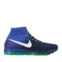 NIKE ZOOM ALL OUT FLYKNIT(ナイキ ズーム オール アウト フライニット)COLLEGE NAVY/WHITE-PARAMOUNT BLUE-ELECTRO GREEN...