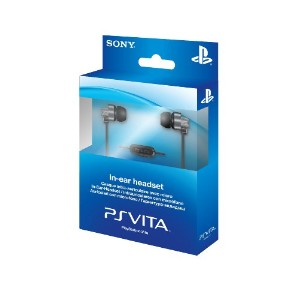 PS Vita In ear Headset