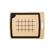 Epicurean Carving Series Cutting Board, 19.5-Inch by 15-Inch, Natural/Slate by Epicurean