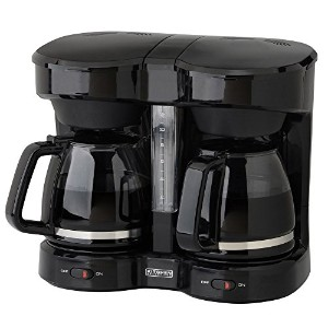 Kitchen Selectives CM-302BL Dual Carafe 12-Cup Drip Coffee Maker, Black [並行輸入品]