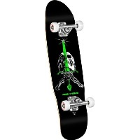 Powell-Peralta Mini Skull and Sword 05 Complete Skateboard, Black/Green [並行輸入品]