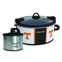 Crock-Pot Tennessee Volunteers Collegiate Cook & Carry Slow Cooker with Bonus 16-ounce Little...