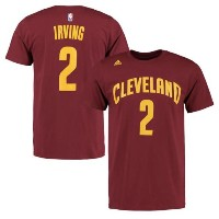 Kyrie Irving Cleveland Cavaliers adidas Net Number T-Shirt メンズ Wine NBA Tシャツ クリーブランド キャバリアーズ カイリー...