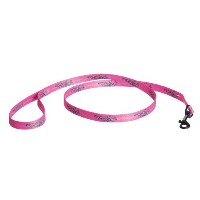 Harley Nylon Dog Leash Pink Barb Wire by Coastal Pet