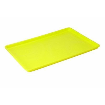 (1) - Winco FFT-1826YL Plastic Tray, 46cm by 70cm, Yellow