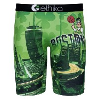 Boston Celtics Ethika for Fanatics Baller Boxer Brief メンズ Green/Black NBA エティカ インナー ボストン セルティックス...