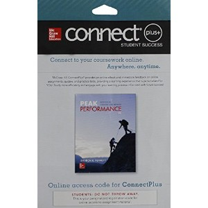 Connect Access Card for Peak Performance: Success in College and Beyond