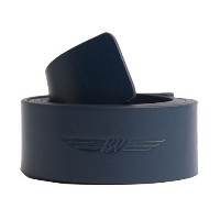 【即納】【あす楽対応】★ボーケイ VOKEY BV WINGS FULL GRAIN LEATHER BELT NAVY L 39271